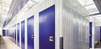 Self Storage facility for students