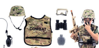 Kids' Army Costume