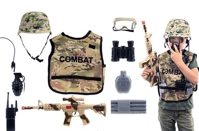 Kids' Army Costume